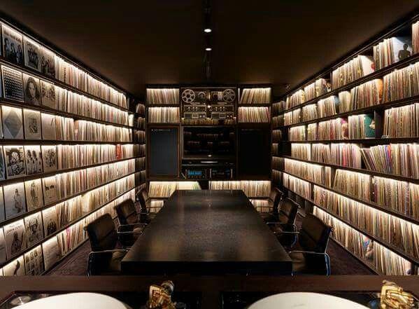 Vinyl Room.