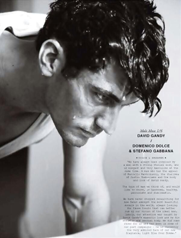 David Gandy | Dolce and Gabbana