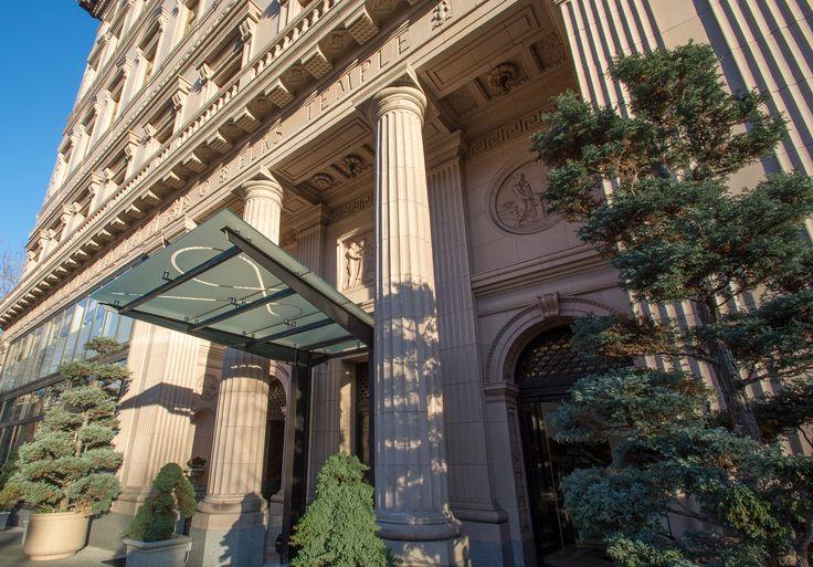 Beautiful Historic Luxury Hotel in Downtown Portland, Oregon:  The Sentinel