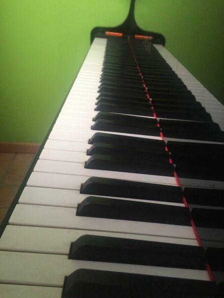 PIANOFORTE MEZZA CODA YAMAHA C3 - 1 ANNO DI VITA