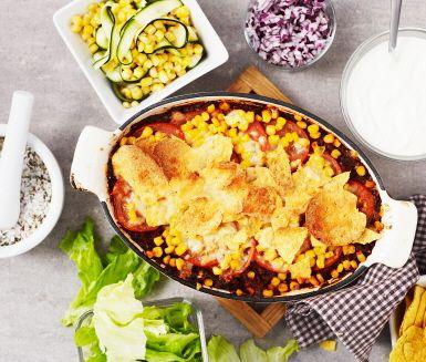 Recept: Tacogratäng