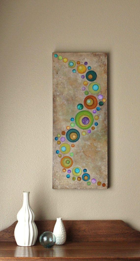 Cosmic Flow Canvas by Studio Zen