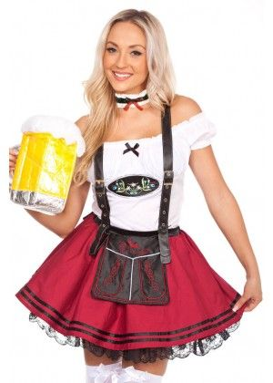 Many of our cute and sexy Oktoberfest costumes Australia are available from  small to plus sizes. Beer stein style adult party hats are available to ... 7aa729429a26