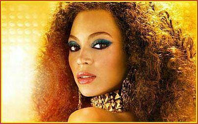 Beyonce's Austin Powers look