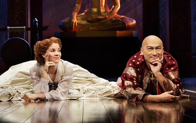 Kelli O'Hara and Ken Watanabe in 'The King and I' on Broadway (Photo: Paul Kolnik)
