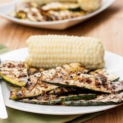 Grilled Zucchini with Sauce