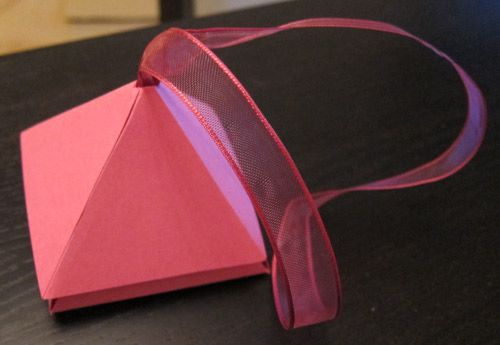 Confezioni regalo a doppia piramide