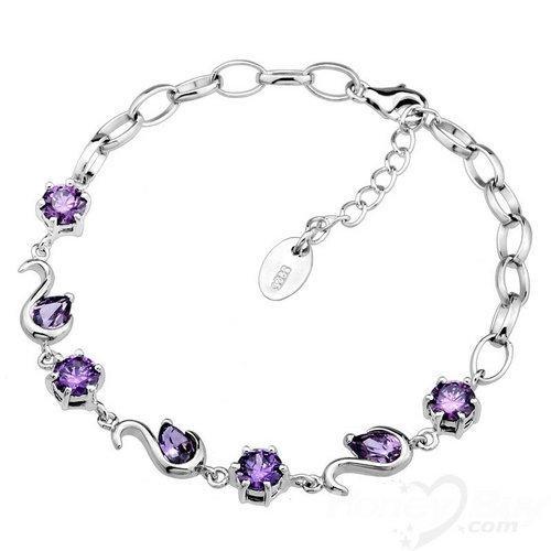 Modest Wholesale Swan Amethyst 925 Sterling Silver Bracelet JewelleryJewelry Stores, Crystals Jewelry, Costumes Jewelry, Quality Jewelry, Jewelryï Silve Jewelry, Jewelry Include, Pretty Jewelry, Gold Jewelry, Diamonds Jewelryï Silve