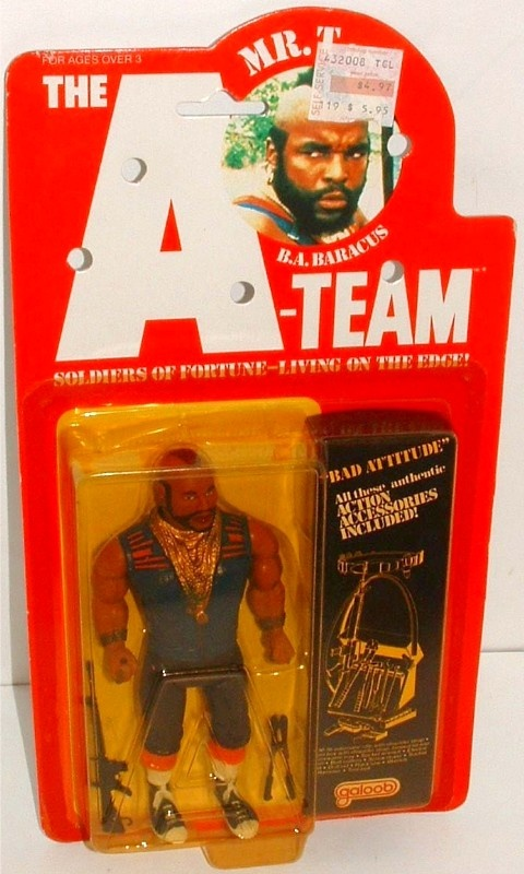 GALOOB: 1983 The A-Team Mr. T Action Figure