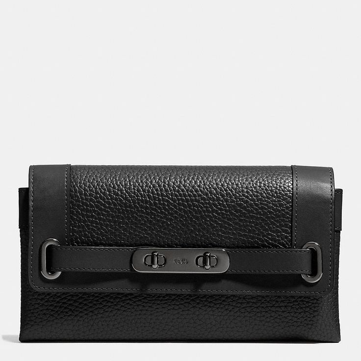 Coach Swagger Wallet in Pebble Leather