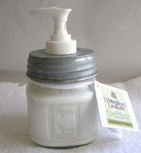 Mason Jar Lotion Dispenser