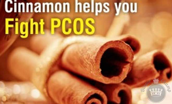 Can Cinnamon Benefit PCOS? Cinnamon. It's not just for French Toast anymore. The common household spice has proven itself in the last few years, helping all sorts of medical conditions. Many people do not realize that cinnamon actually contains more antioxidants than the blueberry. Cinnamon is great for stabilizing blood sugar and also for reducing insulin resistance.