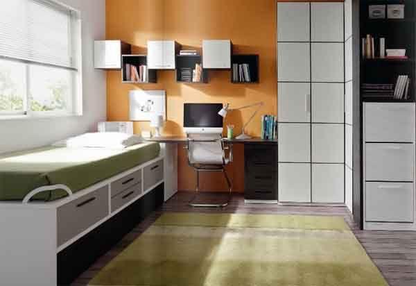 habitaciones juveniles coloridas