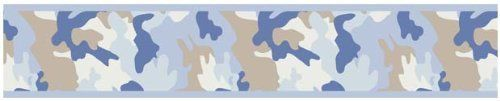 Blue and Khaki Camo Army Camouflage Baby, Kids and Teens Wall Paper Border by Sweet Jojo Designs by Sweet Jojo Designs, http://www.amazon.com/dp/B003BQRKMG/ref=cm_sw_r_pi_dp_jCa8rb0NDEN2Q