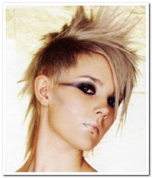 short mullet hairstyle 2014 Famous Hairstyles Pinterest