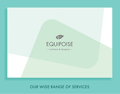 "Check out new work on my @Behance portfolio: ""Equipoise Architects & Designers"" http://be.net/gallery/44698863/Equipoise-Architects-Designers"