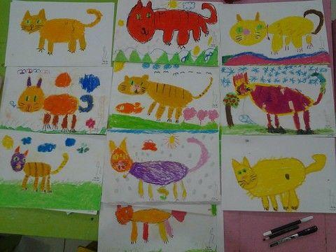 Menggambar kucing