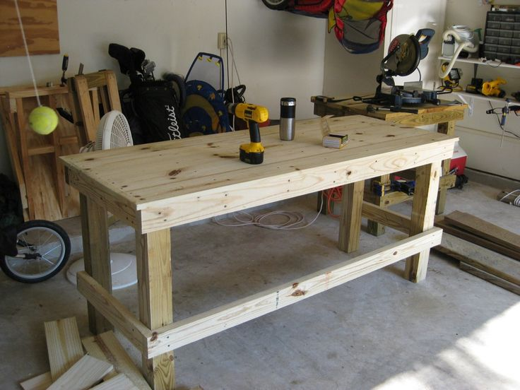 51 best images about work bench on pinterest workshop How much to build a new garage