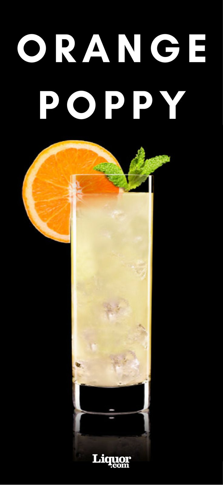 This citrusy #absinthe cocktail should be on your radar! Fizzy and delicious, this drink can make any day brighter.
