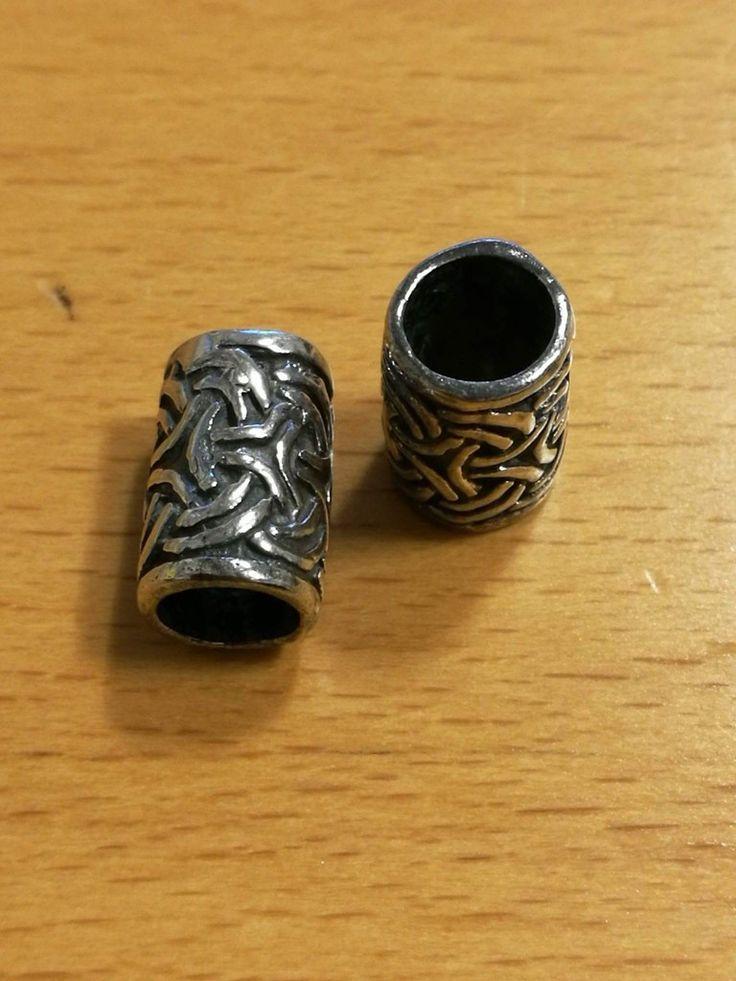 Jelling, sølvperle.  8x12mm 120 kr.