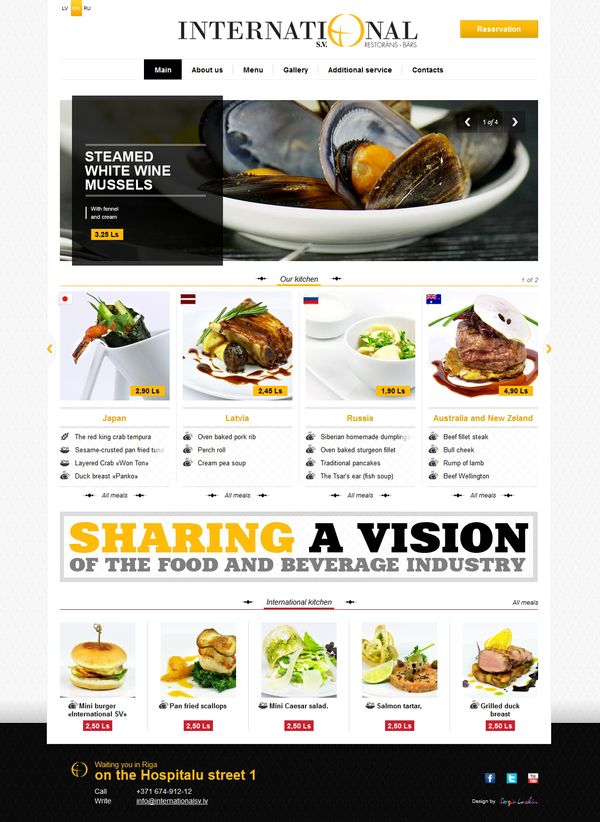 112 best website reference images on pinterest graphics brand international restaurant on the behance network repinned by blickedeeler forumfinder Choice Image