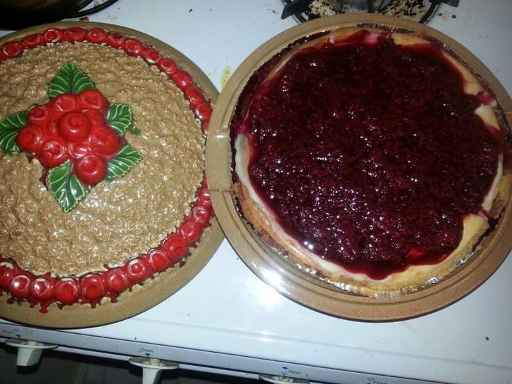 Raspberry Cheesecake courtesy of Zainab A.