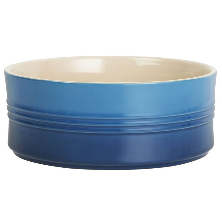 Le Creuset of America Stoneware Souffle Dish, 2 1/2-Quart, Marseille ^^ Details can be found at : Ramekins and Baking