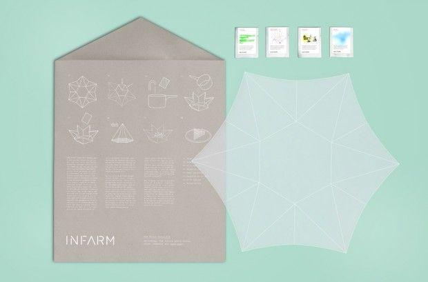 Tomorrow Machine + INFARM un kit de culture indoor