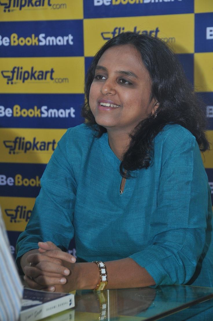 Rashmi Bansal at a chit-chat