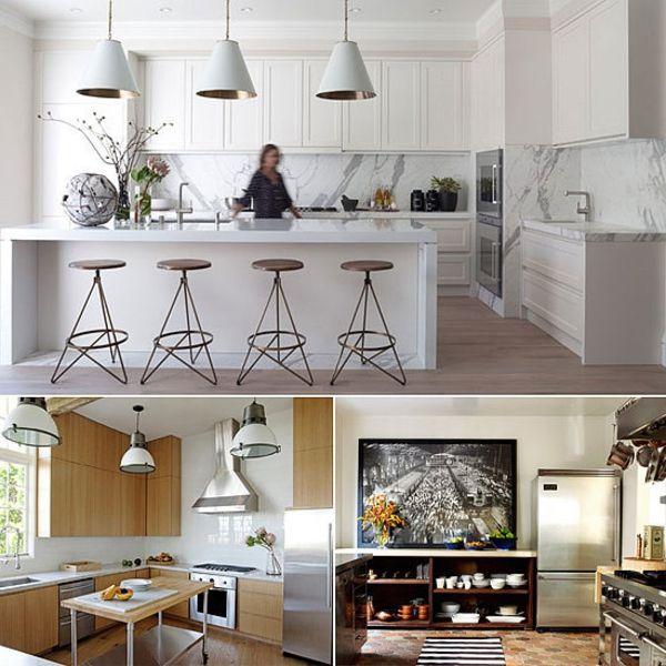 coole stilvolle Küche Design