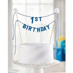 Birthday Cake Topper - Time Your Gift - 1