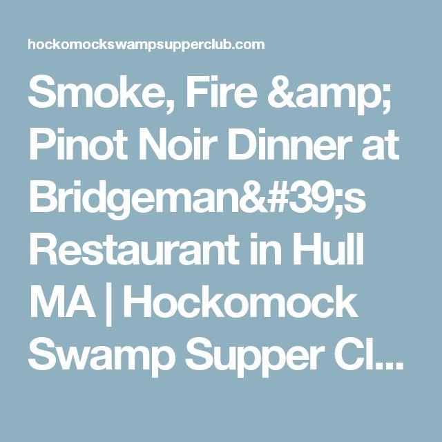 Bridgeman S Restaurant Hull Ma
