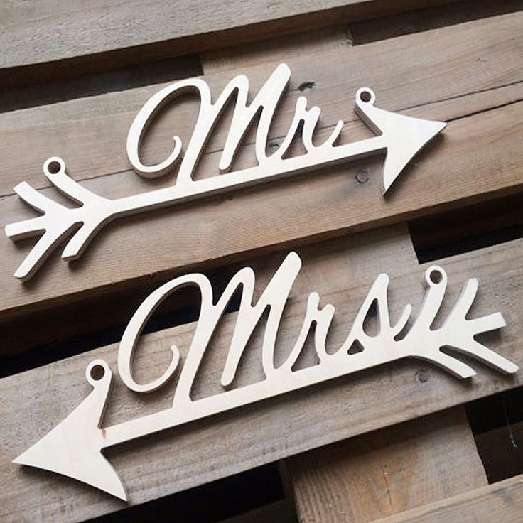 2 piece/lot MR/MRS Creative Wedding Sign Fishbone Wedding decoration wedding indicator Festival party Wholsale