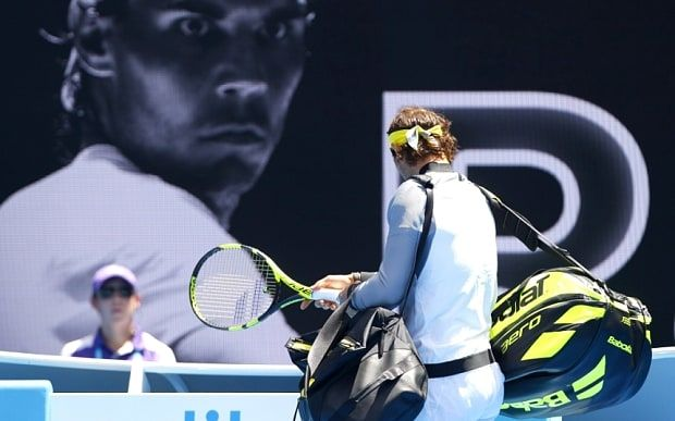 Australian Open 2016, day two: Rafa Nadal and Simona Halep...: Australian Open 2016, day two: Rafa Nadal and Simona Halep knocked… #Nadal