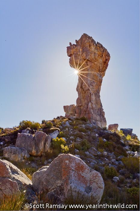 Maltese Cross in Cederberg | South Africa