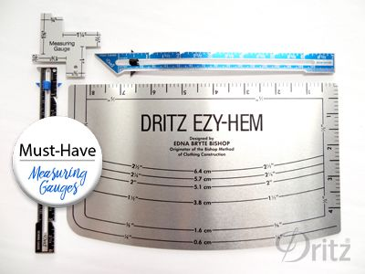 dritz ezy hem instructions
