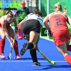 2016 Rio Olympic Games - Women's Field Hockey Quarterfinal: USA vs Germany
