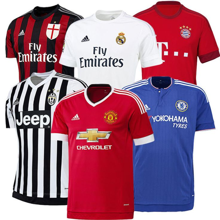 Adidas #football #soccer #jersey 2015 2016 club team official authentic new,  View more on the LINK: http://www.zeppy.io/product/gb/2/182161201802/