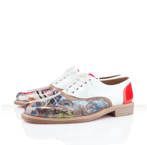 Louboutin loving some art #fashion #louboutin #art #style #menswear #men #shoes