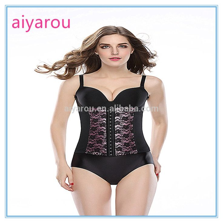 Check out this product on Alibaba.com APP Wholesale and retail Slim Waist Tummy pink Lace Girdle Underbust Control Corset Firm Waist Trainer Slimming corsets
