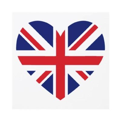 Union Jack Heart......possible tattoo idea?