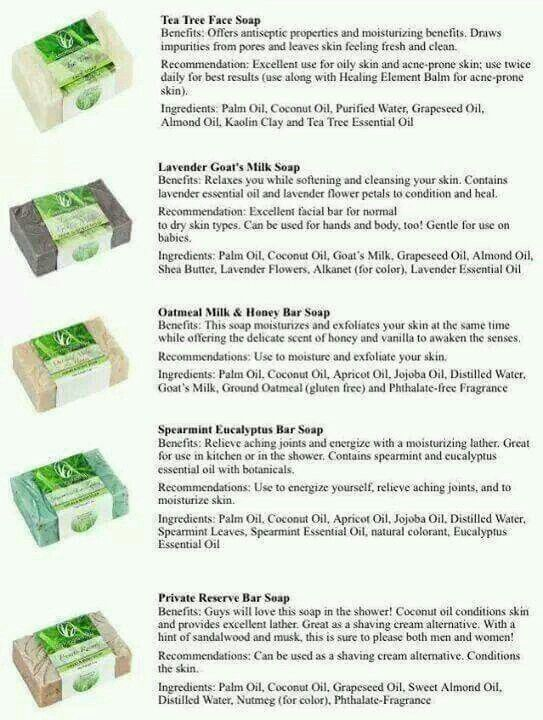 Lemongrass Spa soaps