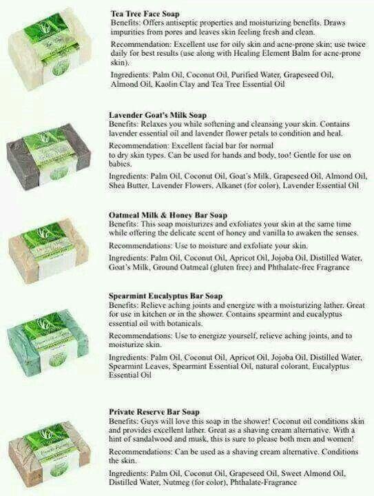 Lemongrass Spa soaps