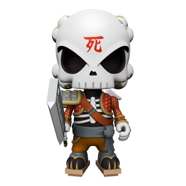 Huck Gee Gold Life Soul Collector 4-inch Figure by MightyJaxx
