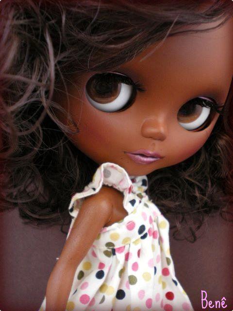 Pretty custom Blythe.