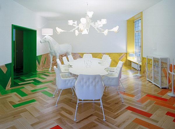 Interesting wood floors