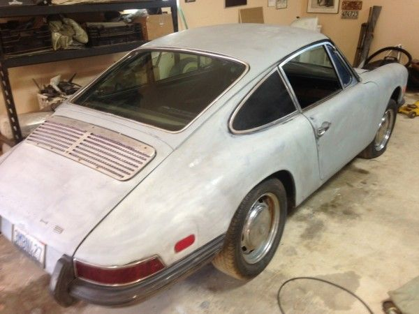1968 Porsche 912: 5 Speed Fun - http://barnfinds.com/1968-porsche-912-5-speed-fun/