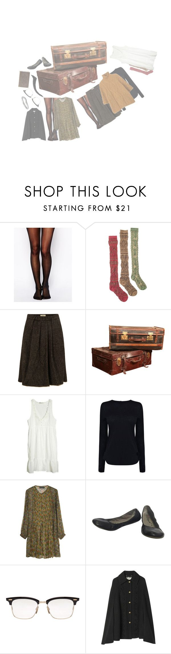 """""""weekend trip on summon"""" by ruthierue on Polyvore featuring Wolford, Muk Luks, Humanoid, Ambre Babzoe, Helmut Lang, Chloé, Antik Batik, Thom Browne, STELLA McCARTNEY and Tiffany & Co."""