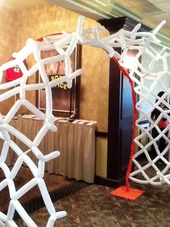 Fiesta para niño | Decoración con el tema: Basketball