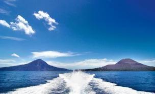 Krakatoa in Lampung